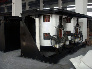Medium Frequency Hydraulic Steel shell furnace KGPS-2000KW/3000kg